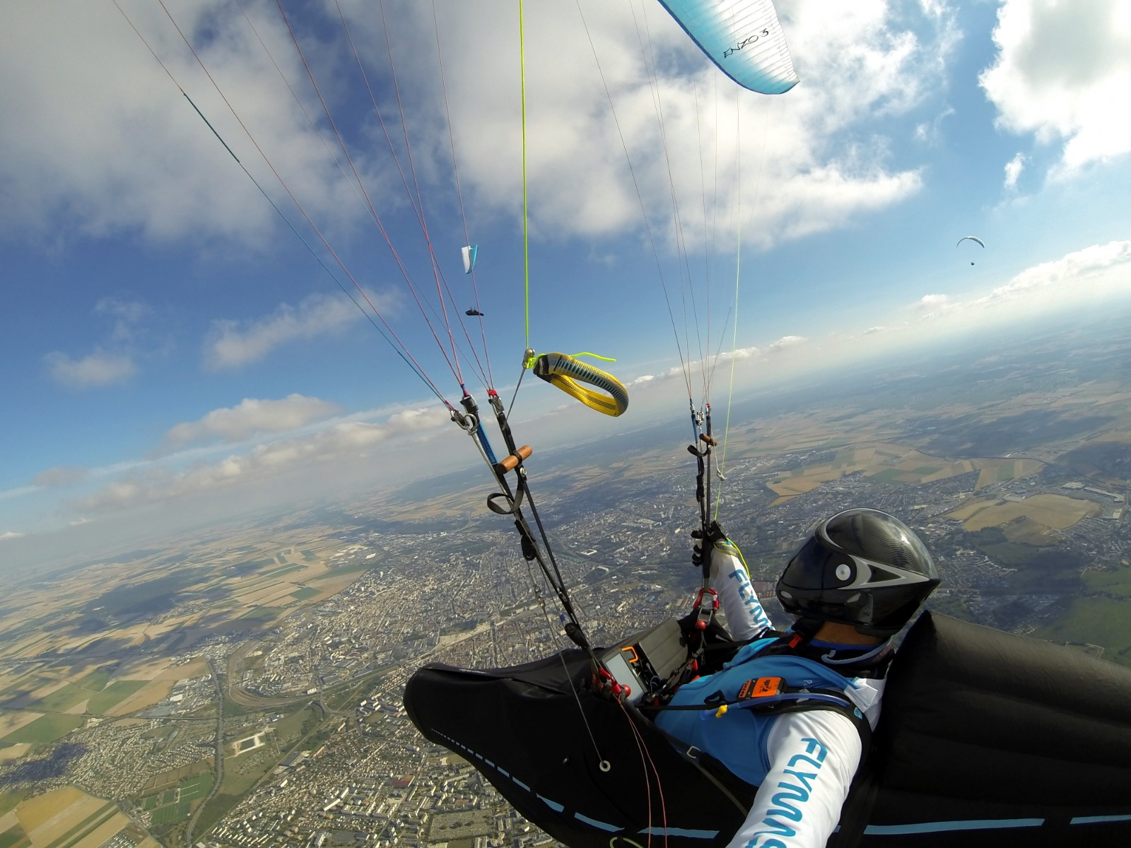 Interview of Martin Morlet: Exploration and Long distance paragliding flights